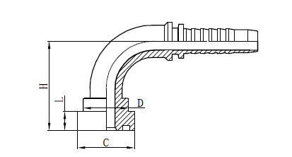 4SH žarnų sąranka, sujungianti brėžinį