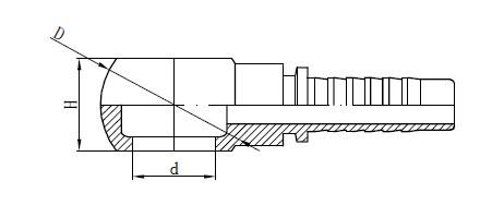 Metrinis Banjo žarnos montavimo brėžinys
