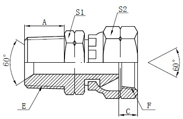 NPSM adapterio jungiamosios detalės