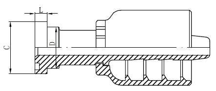 Nerūdijančio plieno hidraulinės detalės