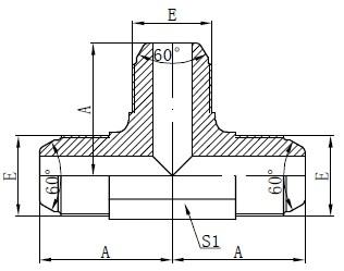 Nugalėtojo standartinis AK montavimo brėžinys